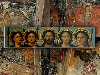 The barbaric frescoes of Agios Georgios Tou Sporou