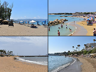 Paphos Blue Flag Beaches