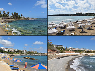 Paphos Beaches and Restaurants - After Lockdown