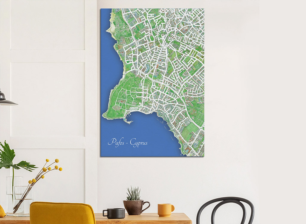 outstanding-illustrated-maps-of-paphos_05-on-wall