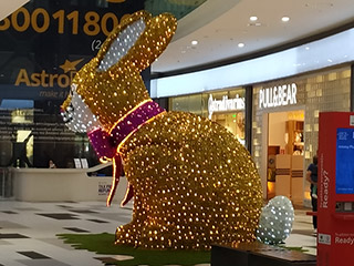 The Easter Decorations Are Beginning to Appear