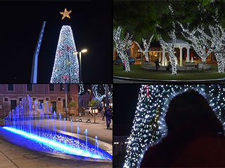 Paphos Christmas Lights Switch On