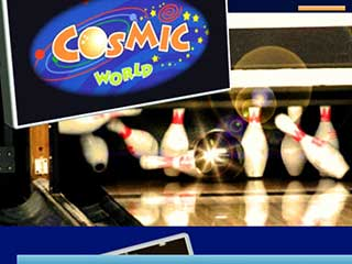 Cosmic World Center 10 Pin Bowling