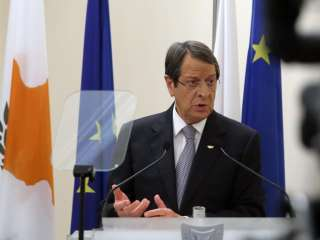 Anastasiades says decentralised powers create feeling of security for T/C