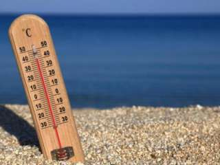 Another yellow alert as temperature stuck at 40 C inland