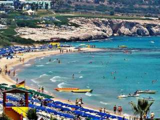 Cyprus beaches modestly priced compared to other countries