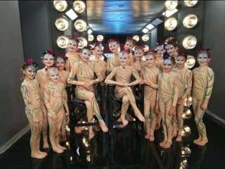 Cyprus dancers in Greece's Got Talent final