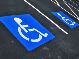Driver parked at a place for people with disabilities and objected to the fine