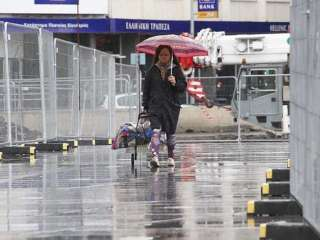 Lower temperatures and rain expected