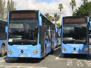 Paphos bus drivers strike over salary delay