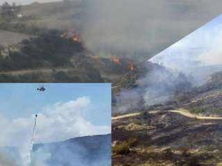 Paphos fire has scorched 5 square kilometres, still raging