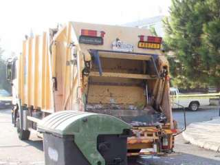 Paphos rubbish collectors announce strike