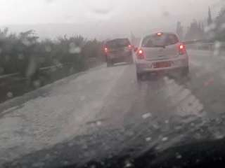 Police: Limassol-Paphos highway dangerous because of heavy rain