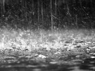 Rain, possible hail expected