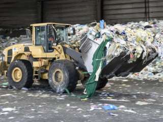 Saddled with waste from new plant