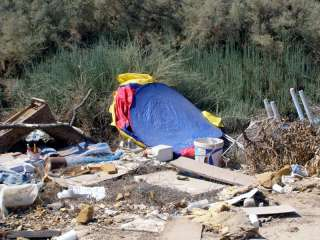 Squabble over responsibility for fly-tipping at Kouris river