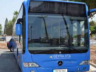 State of the art bus stops for Paphos