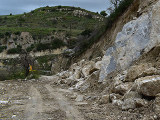 Theletra Road is Being Repaired